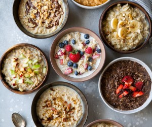 Oatmeal Eight Ways
