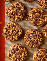 Pumpkin Oat Chocolate Chip Breakfast Cookies