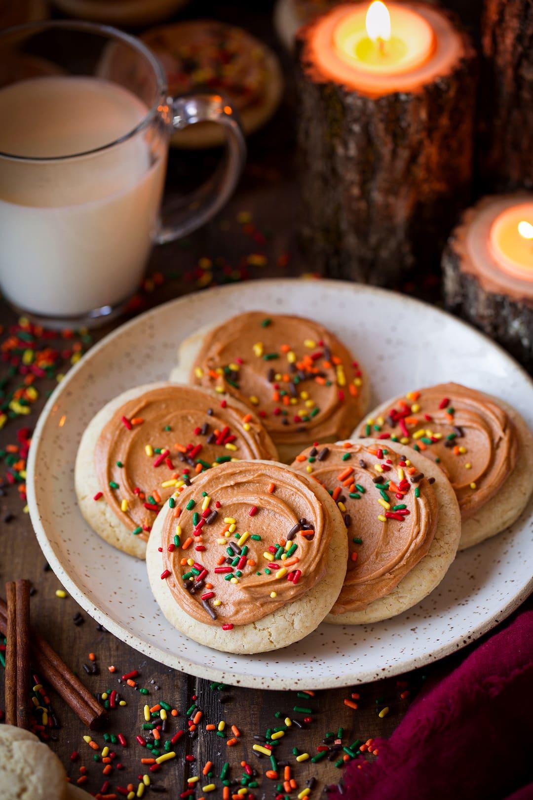 Maple Cinnamon Sugar Cookies