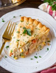 Shortcut Chicken Pot Pie