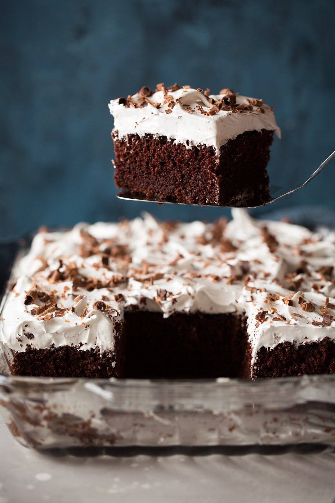 Triple Chocolate Marshmallow Cake Recipe