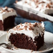 Chocolate Cake Marshmallow Frosting