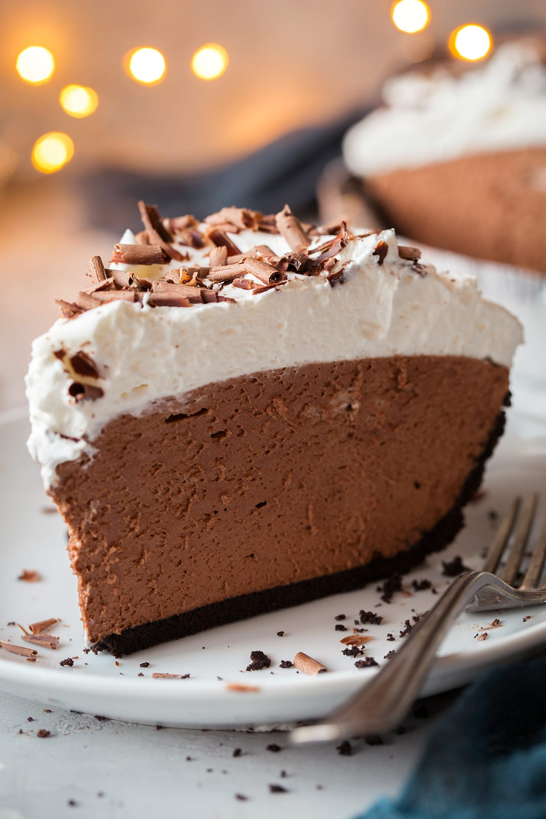 Easy Chocolate Mousse Pie