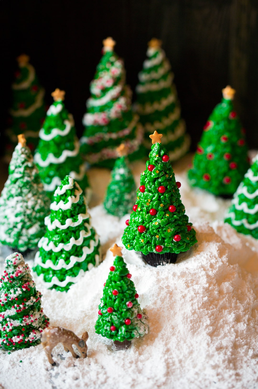 Rice Crispy Treat Christmas.Christmas Tree Rice Krispies Treats Cooking Classy