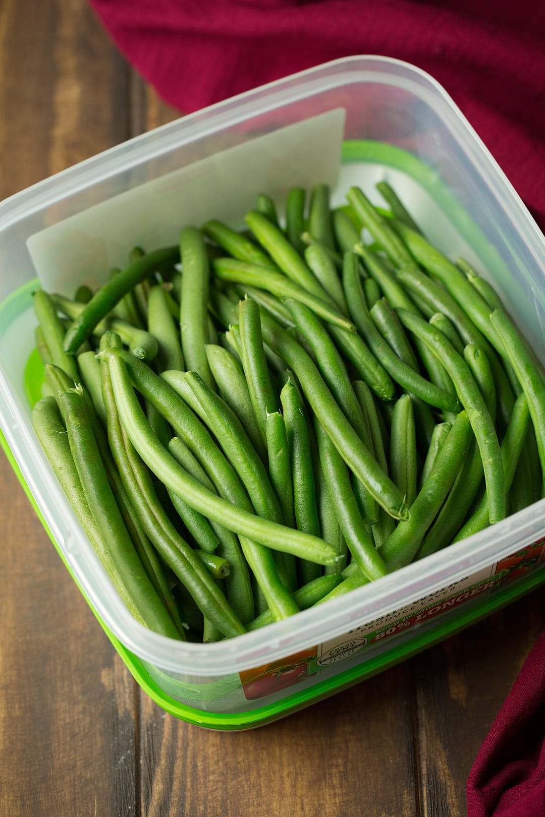 Lemon Butter Green Beans