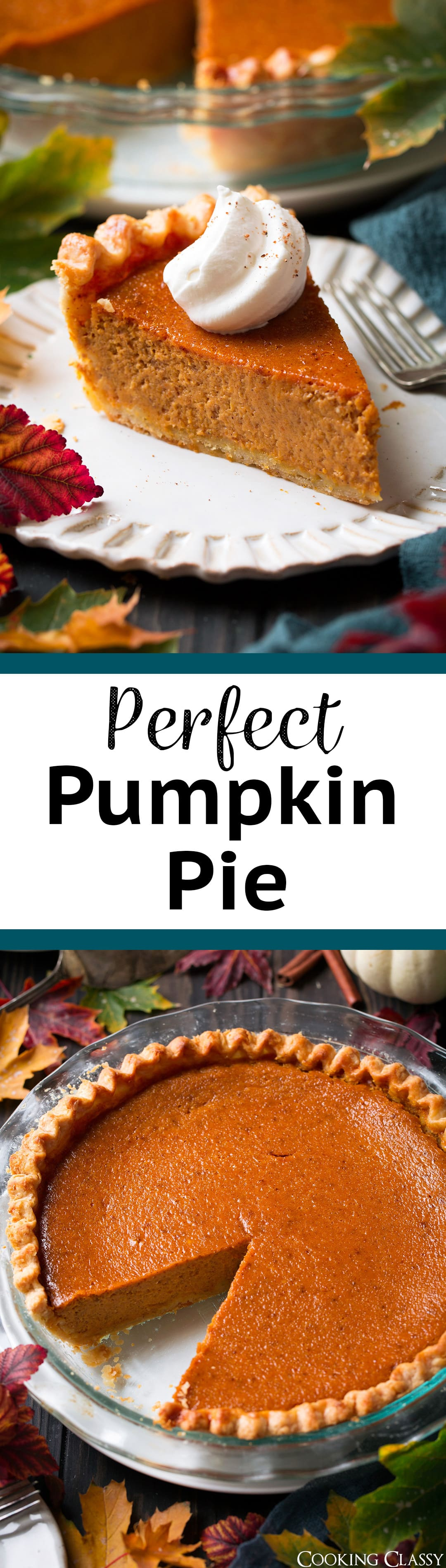 The Perfect Pumpkin Pie - this really is a perfect pumpkin pie! Make this one if you are looking to impress! Love all the little details that really make a difference. #pumpkin #pumpkinpie #pie #thanksgiving #recipe