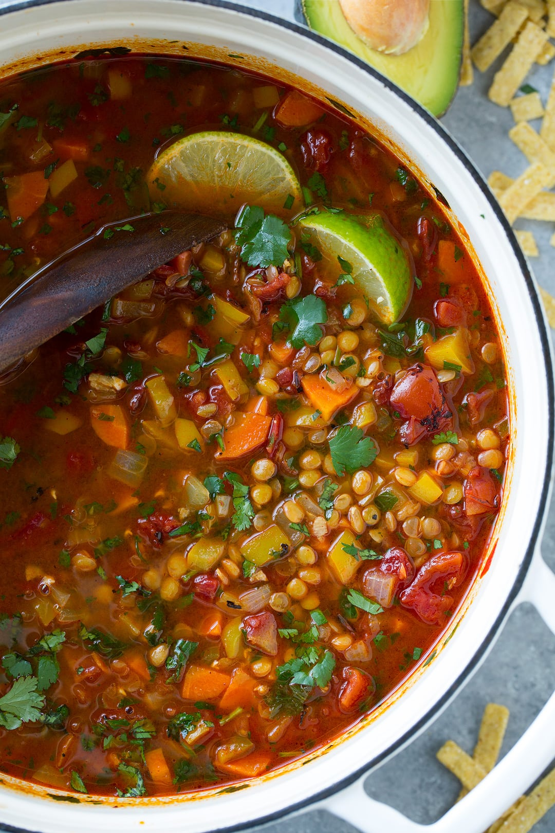 Mexican Lentil Soup Cooking Classy