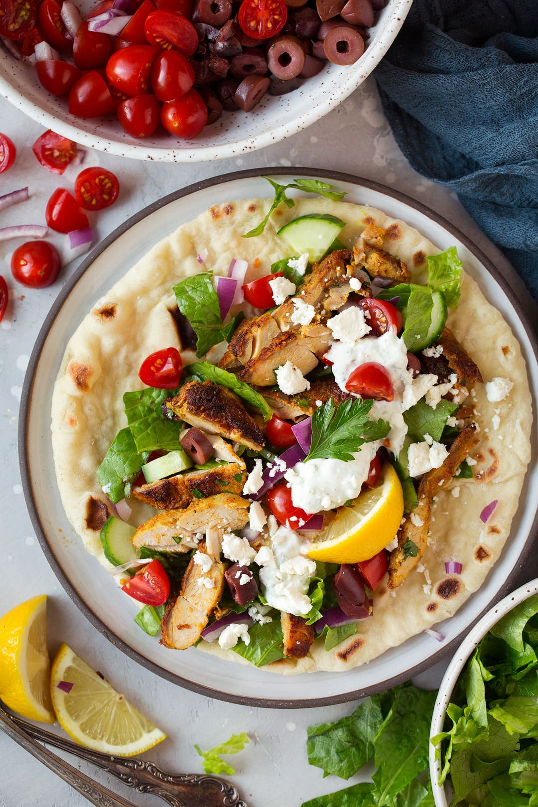 Roasted Chicken Shawarma With Tahini Sauce Amp Pita Cooking Classy