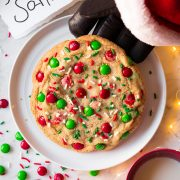 One Big Santa Cookie