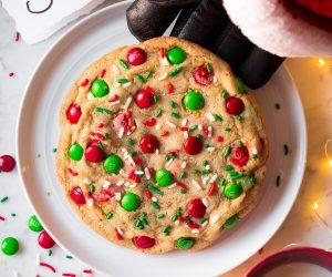 One Big Santa Cookie