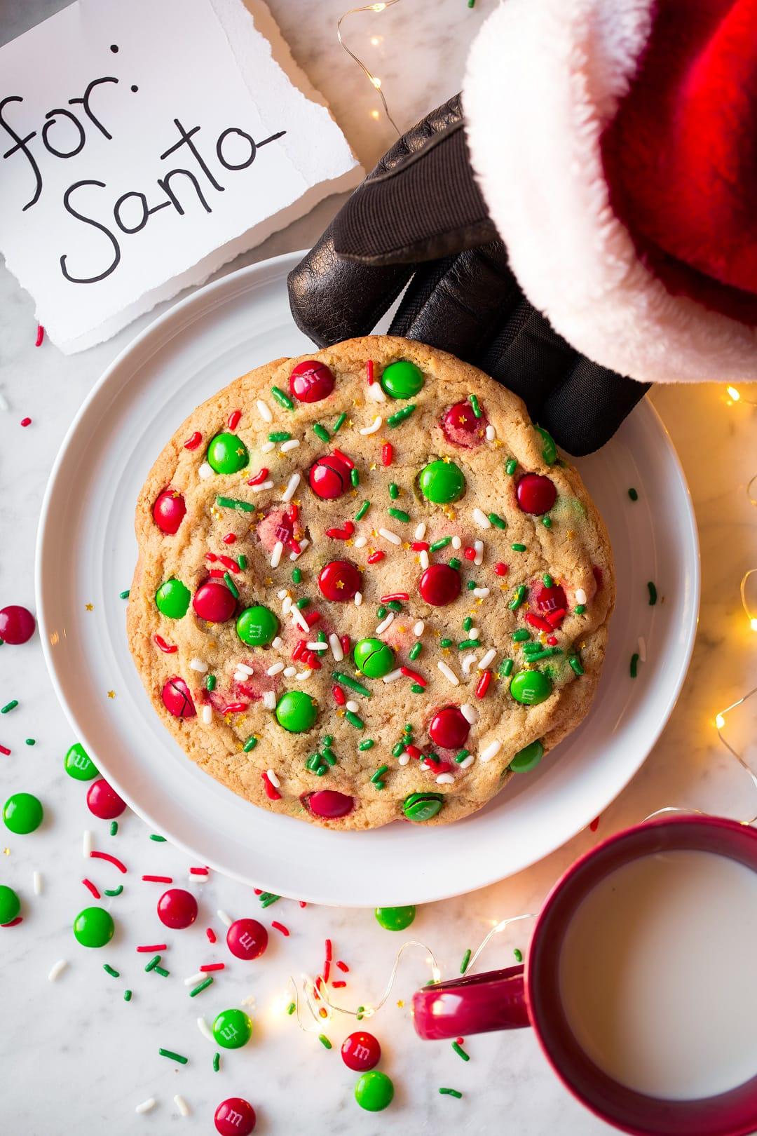 One Santa Cookie (Quick and Easy to Make)