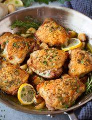 Roasted Lemon Garlic Herb Chicken Cooking Classy