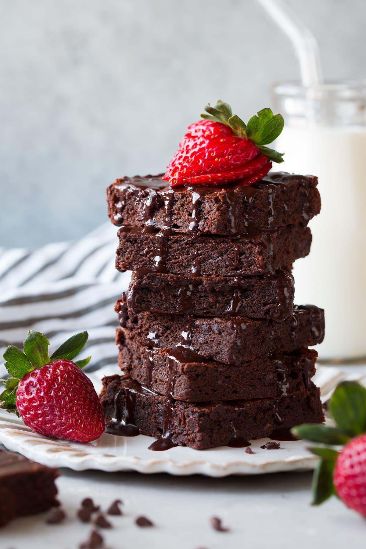 Healthier Brownies - Cooking Classy