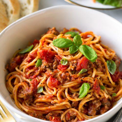 instant pot spaghetti recipe cooking classy