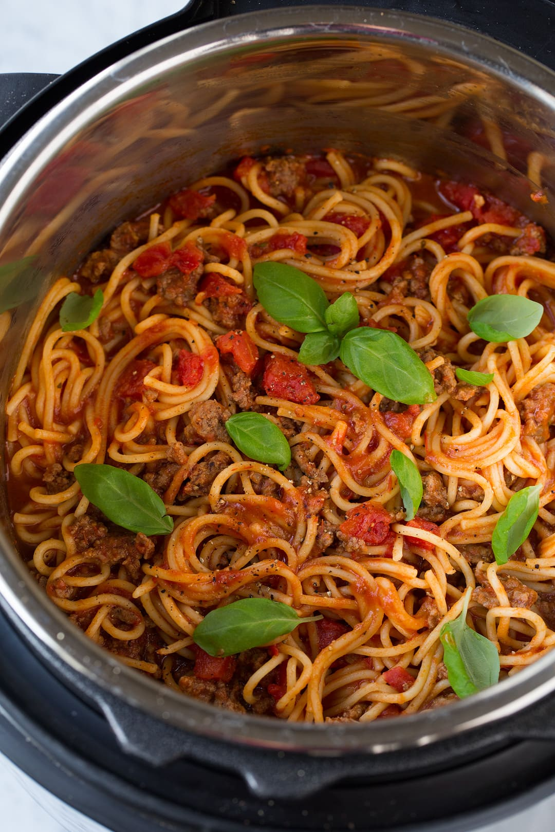 Instant One Pot Spaghetti