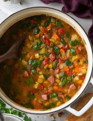 Kielbasa Sausage Vegetable Soup
