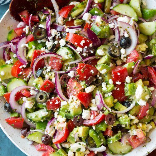 Greek Salad Recipes Feta Cheese