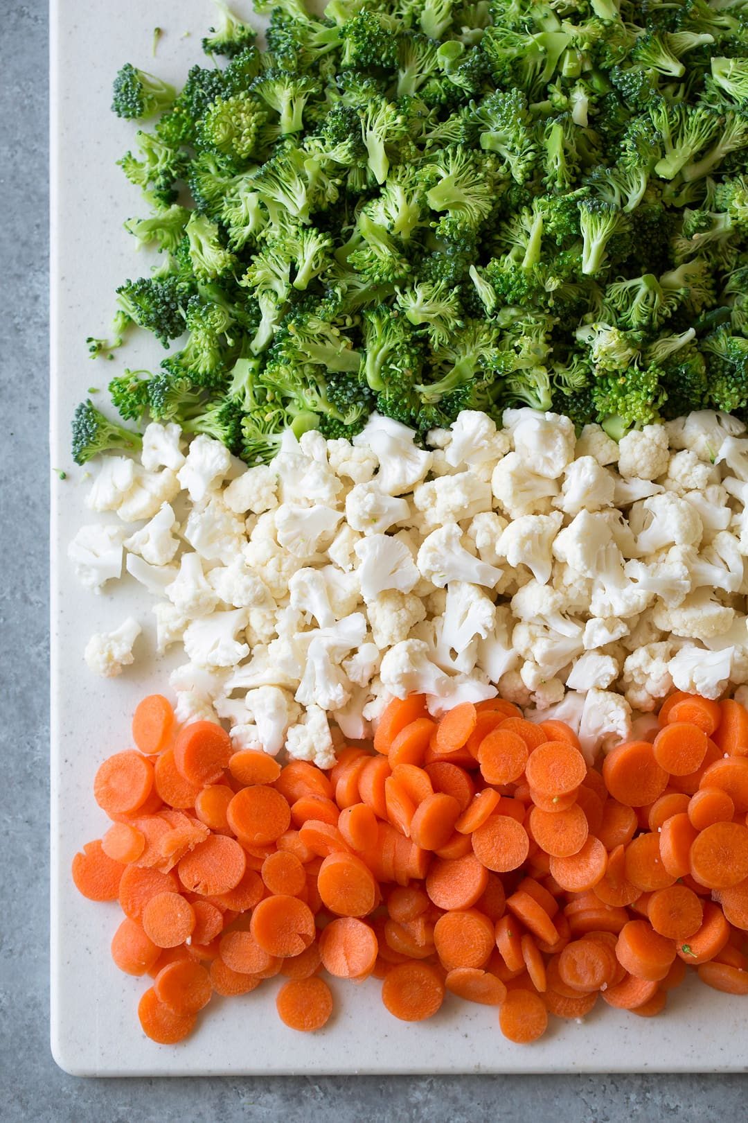 Broccoli Carrot Cauliflower Coleslaw Salad