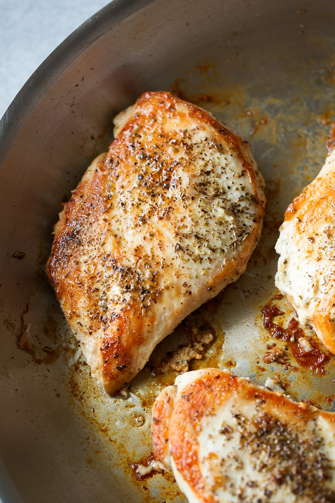 Pan Seared Chicken Breasts