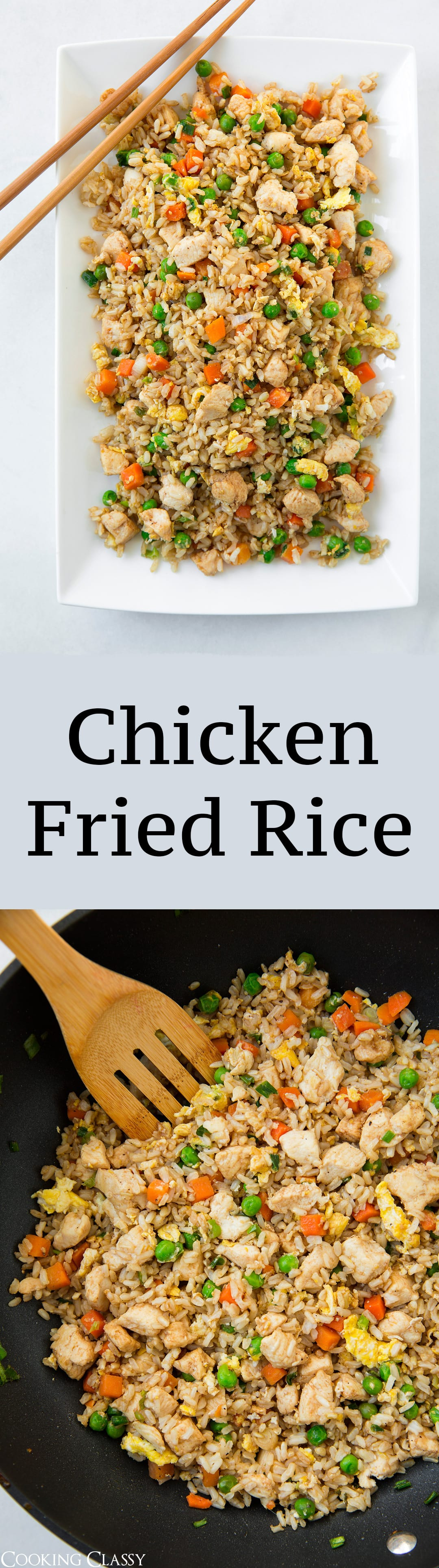 Chicken fried rice cooking classy nutrition disclaimer ccuart Image collections