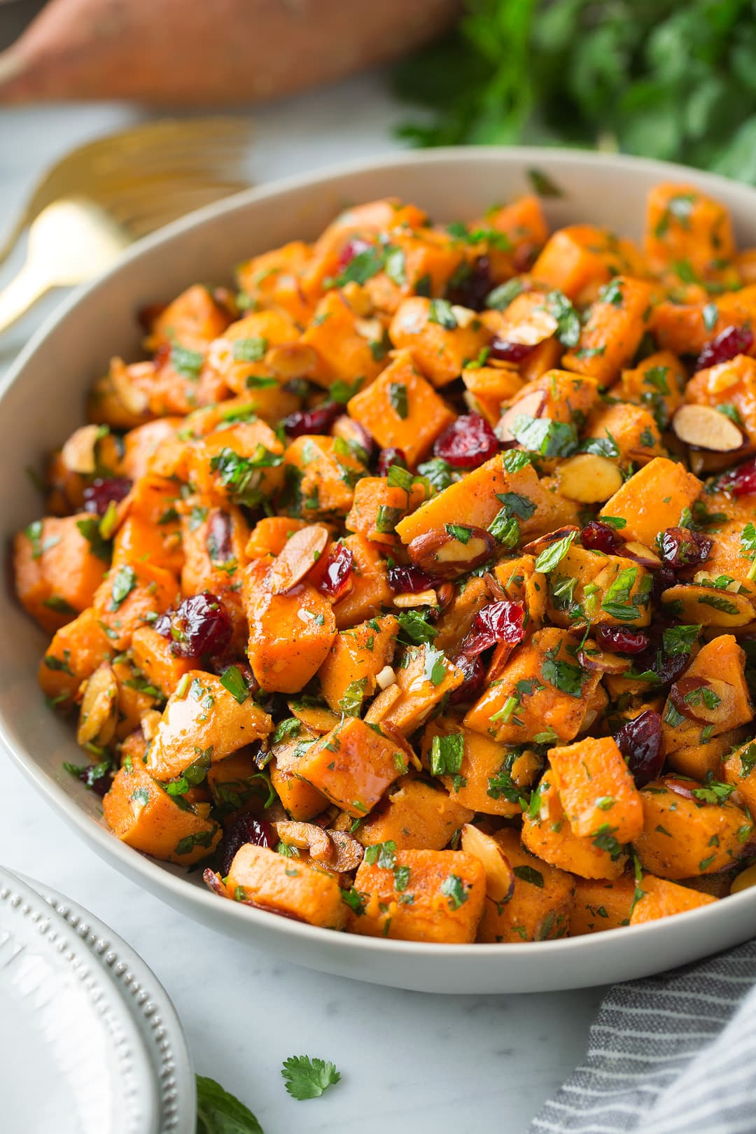 Sweet Potato Salad With Moroccan Flavors Cooking Classy