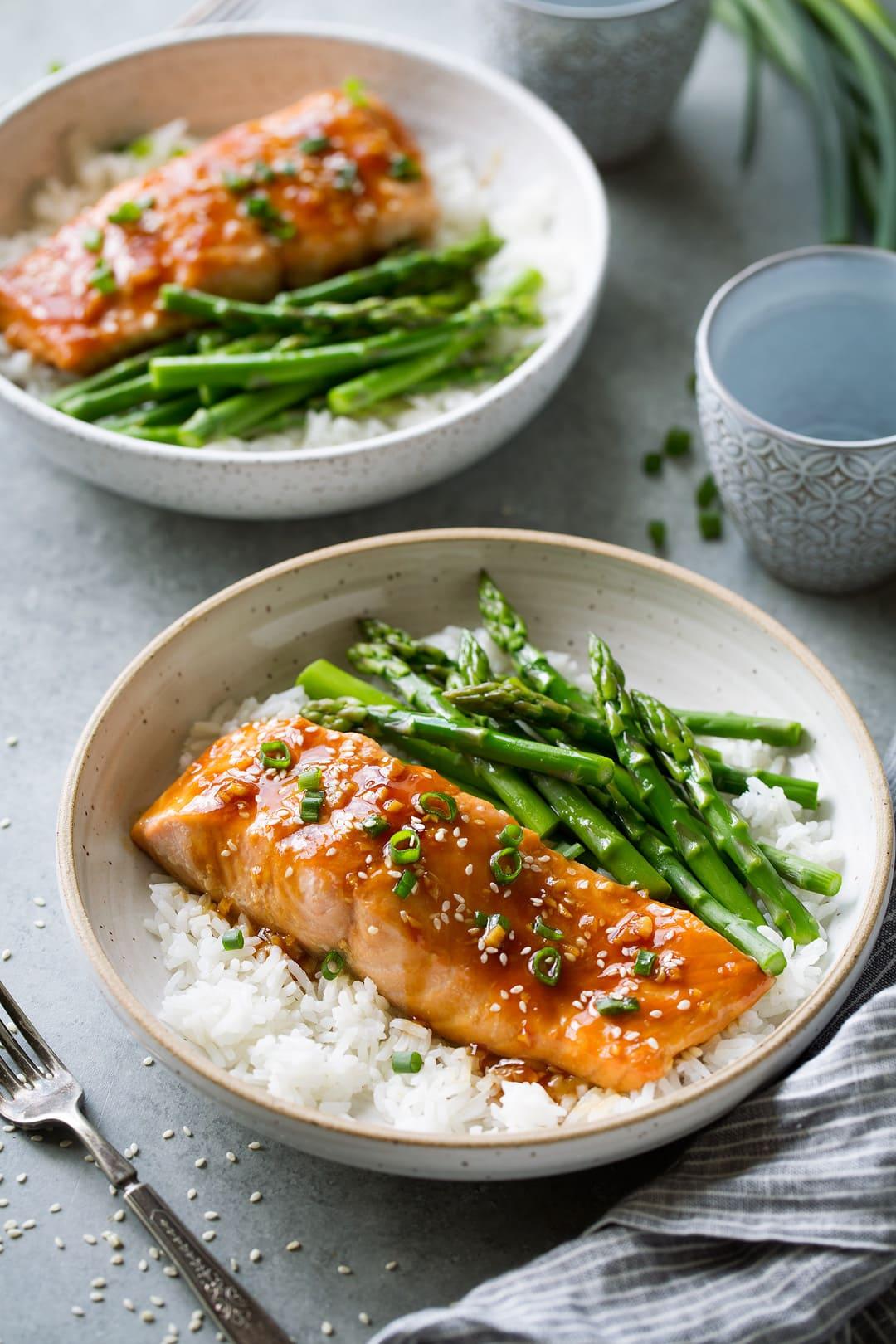 Teriyaki Salmon Recipe Cooking Classy