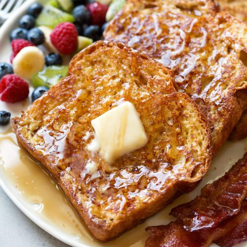 French Toast {Best Easy Recipe} - Cooking Classy