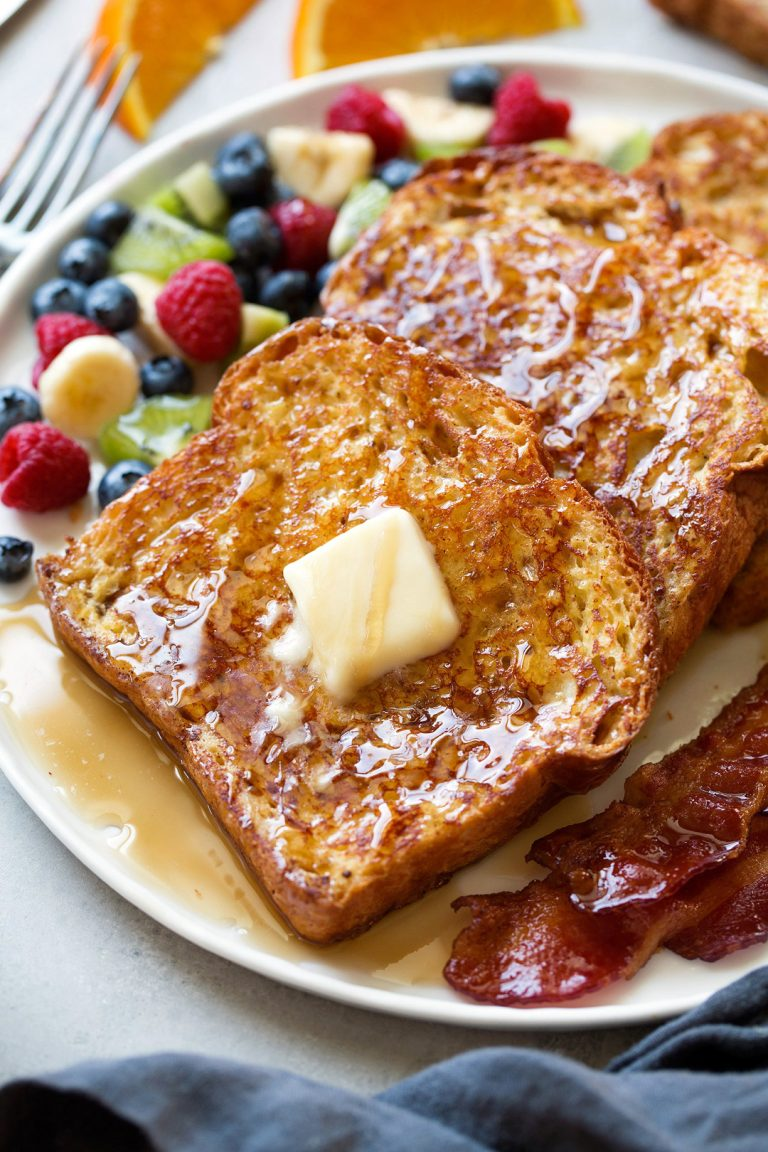 healthy and easy french toast