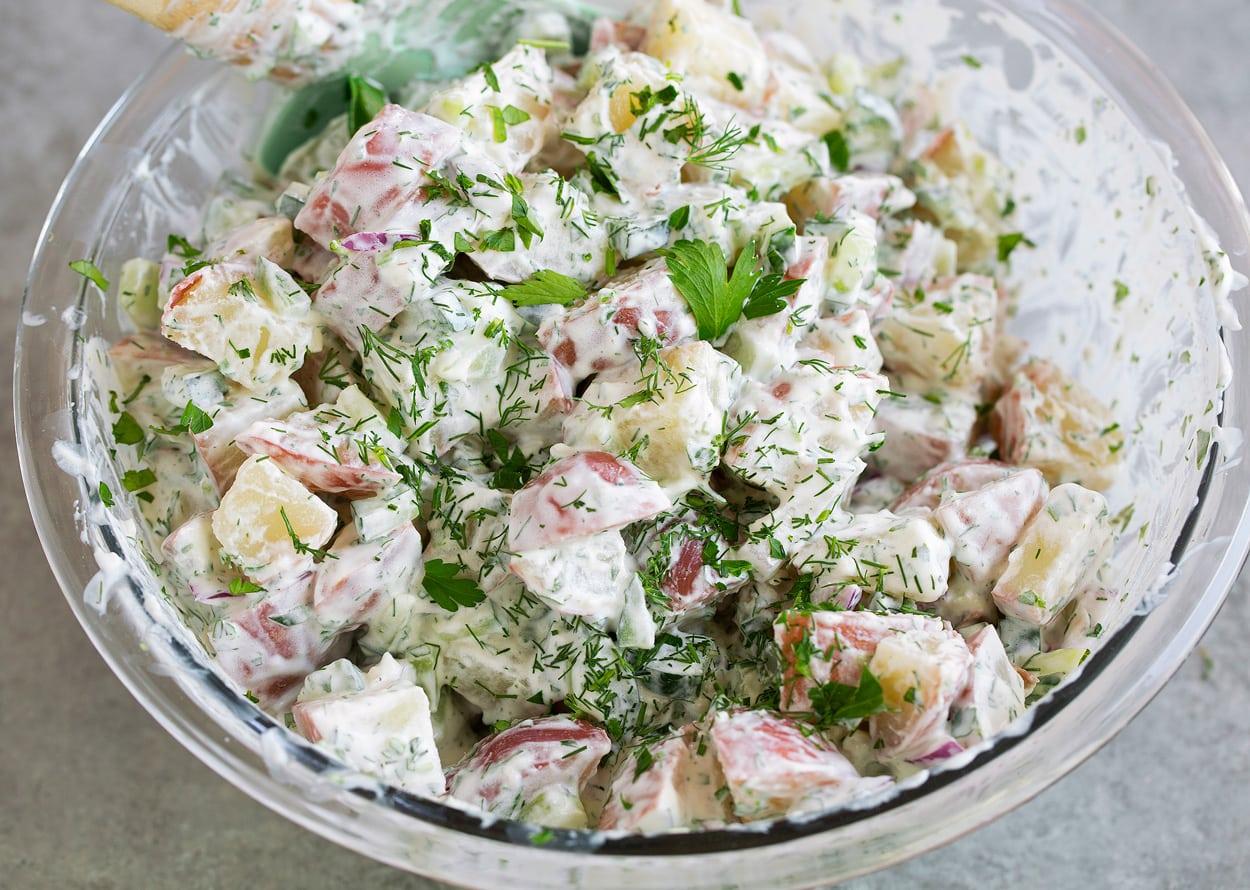 Potato Salad Greek Yogurt Dill