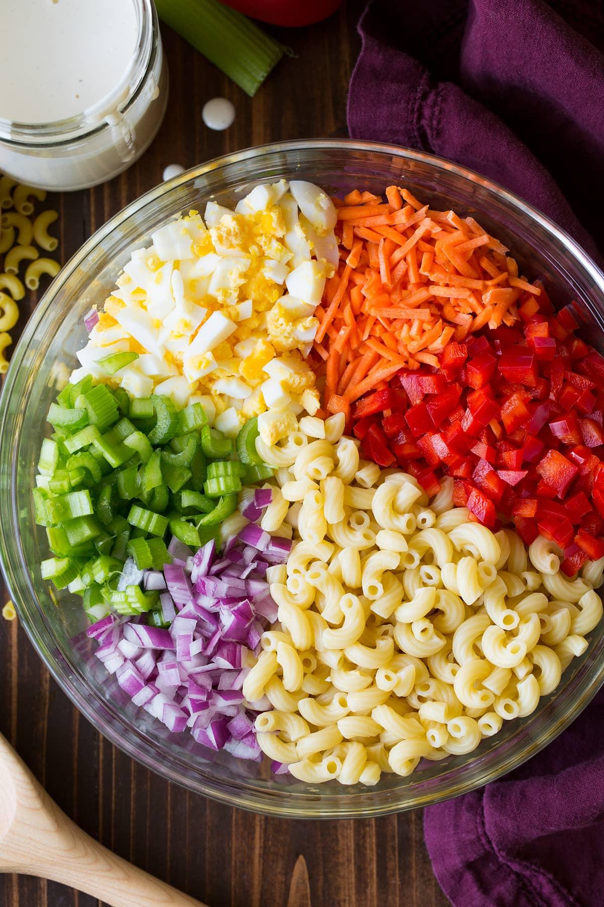 Easy Classic Macaroni Salad Recipe