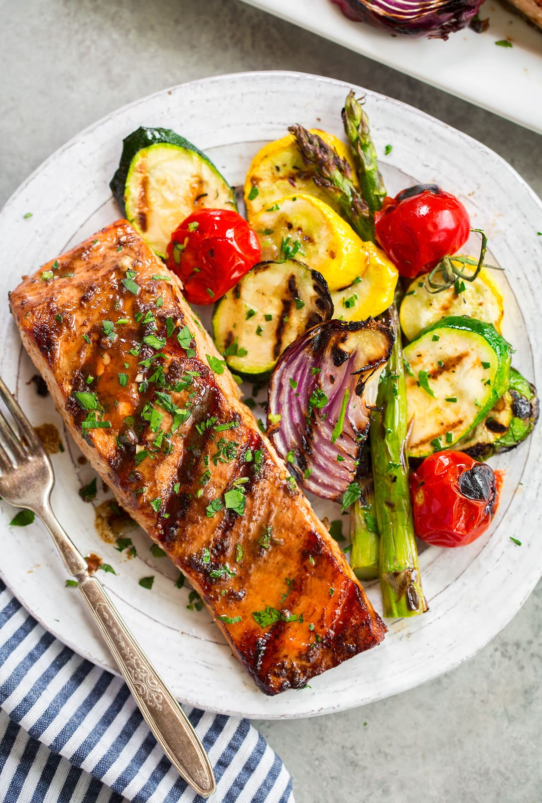 The Best Grilled Salmon Recipe 5 Ingredient Recipe Cooking Classy