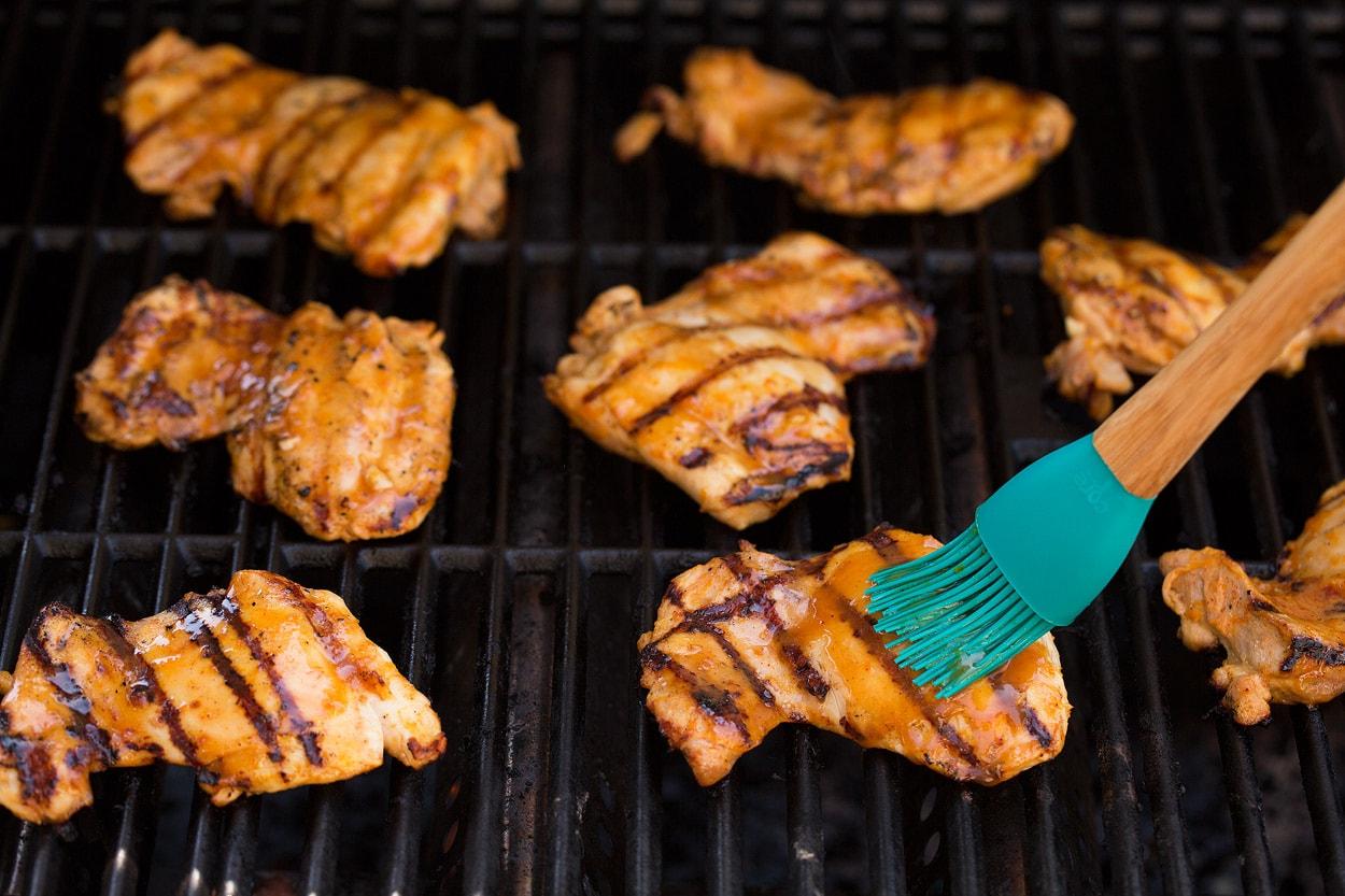 Sticky Honey Orange Grilled Chicken