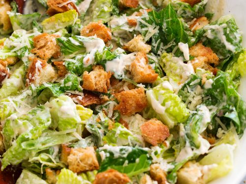 Caesar Salad Recipe Croutons