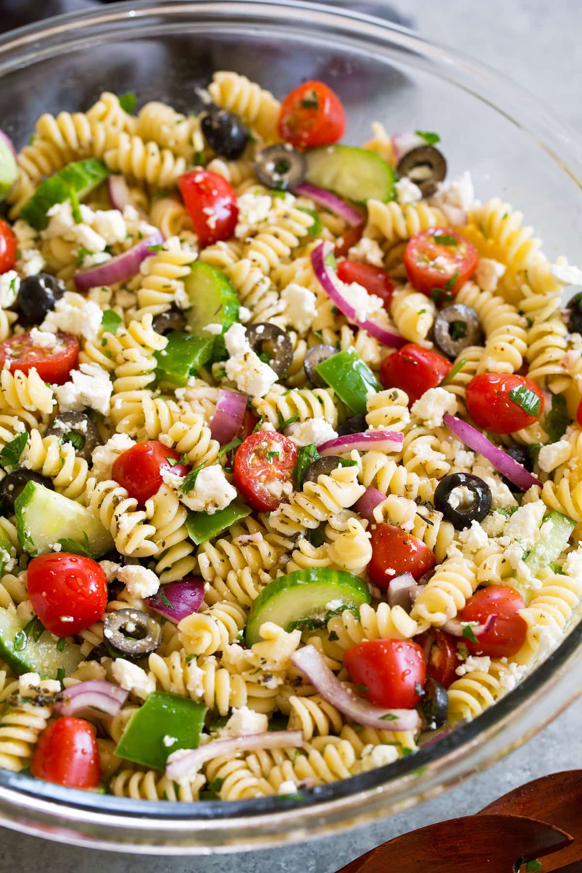 Greek Pasta Salad Cooking Classy