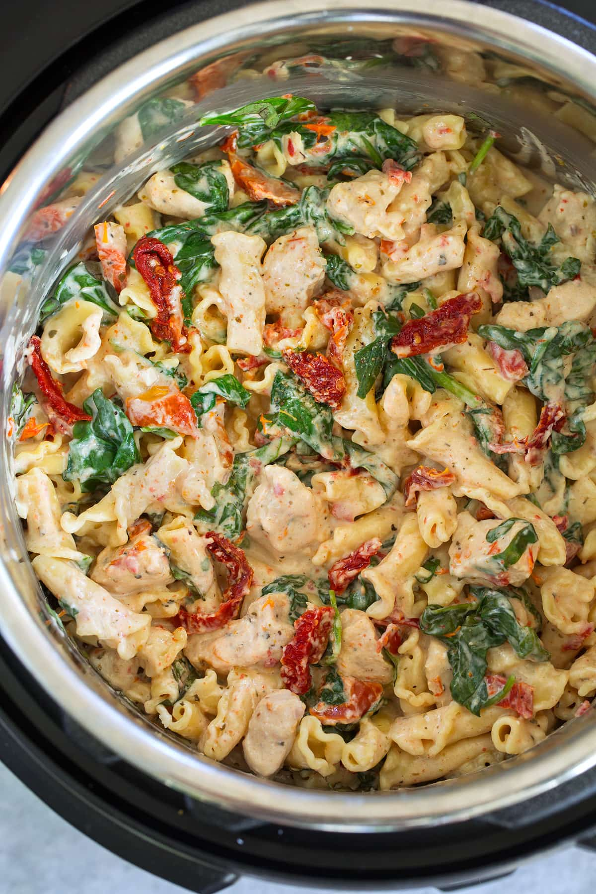 Instant Pot Creamy Tuscan Chicken Pasta Cooking Classy