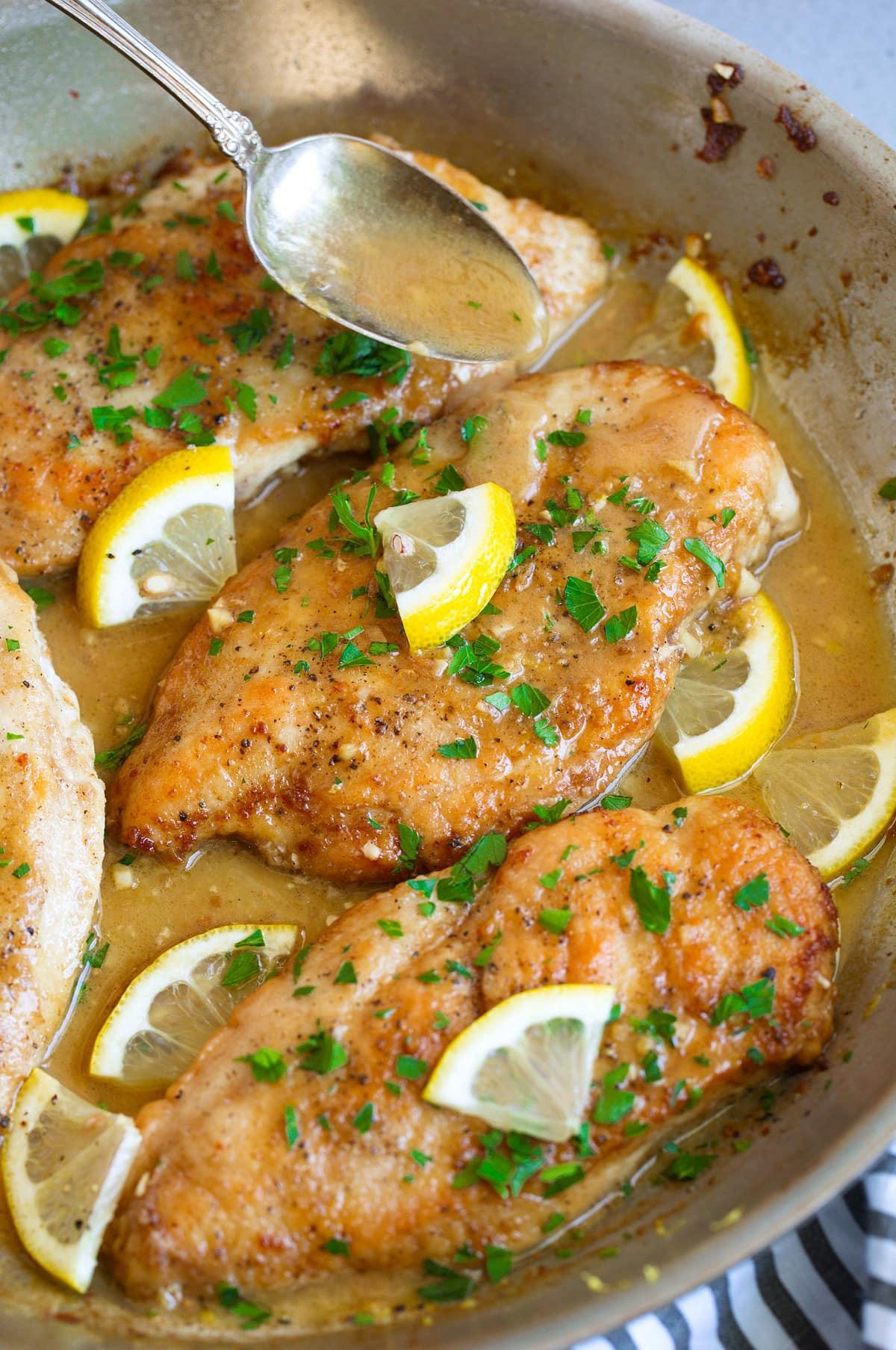 Best Lemon Chicken Buttery Sauce Cooking Classy