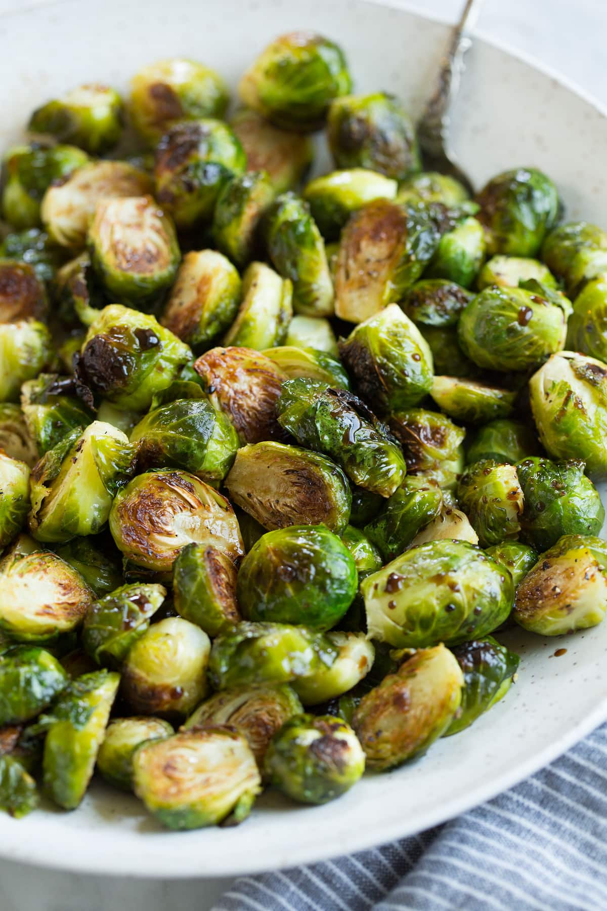 Roasted Brussels Sprouts With Balsamic And Honey Cooking