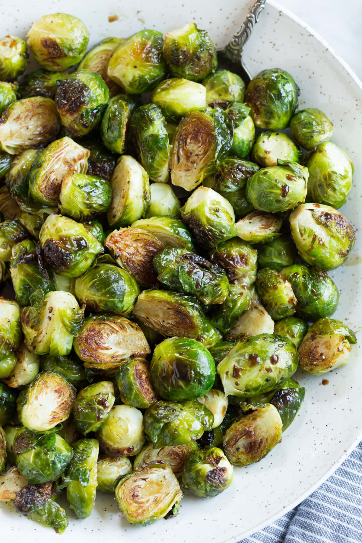 Roasted Brussels Sprouts With Balsamic And Honey Cooking Classy