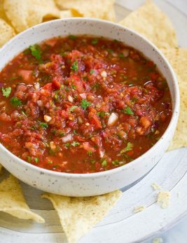Fresh Homemade Salsa Recipe