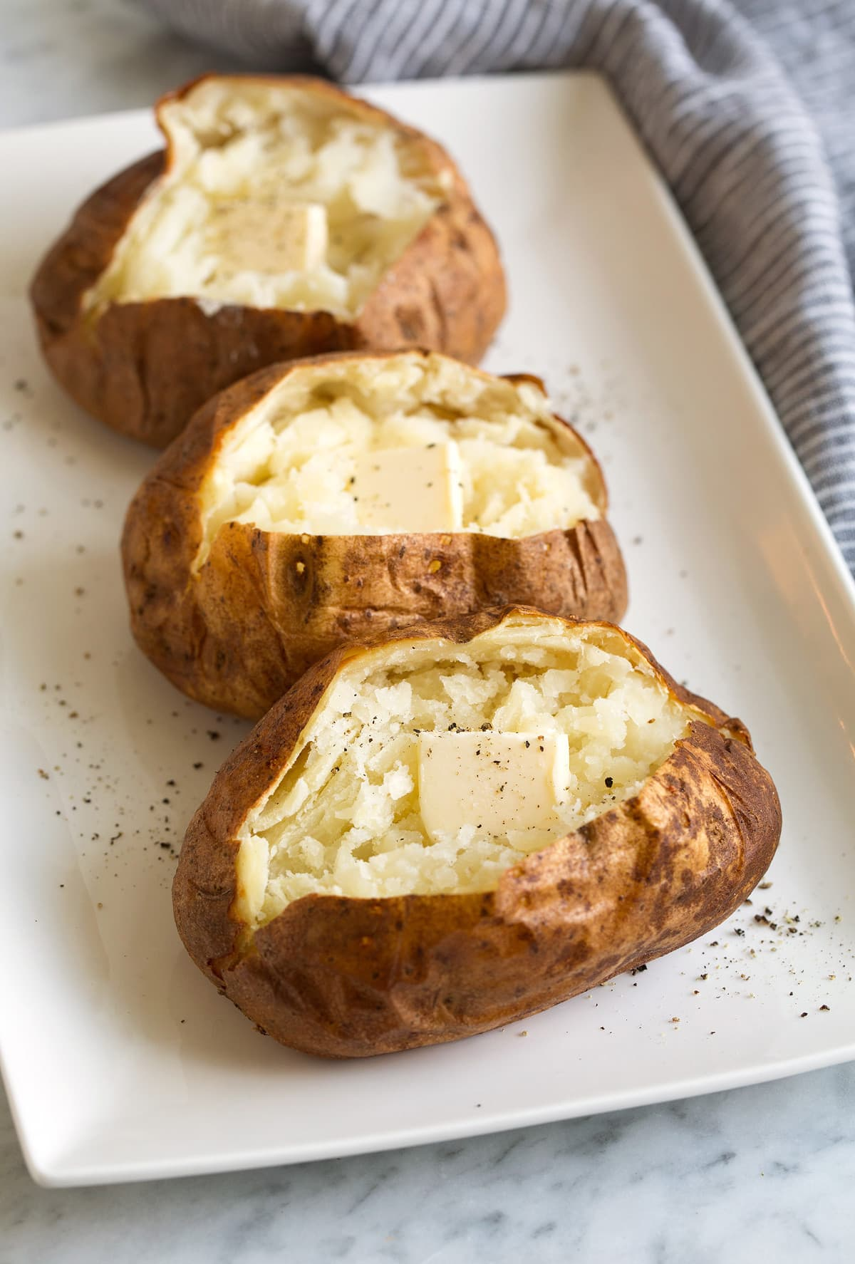 best baked potato method