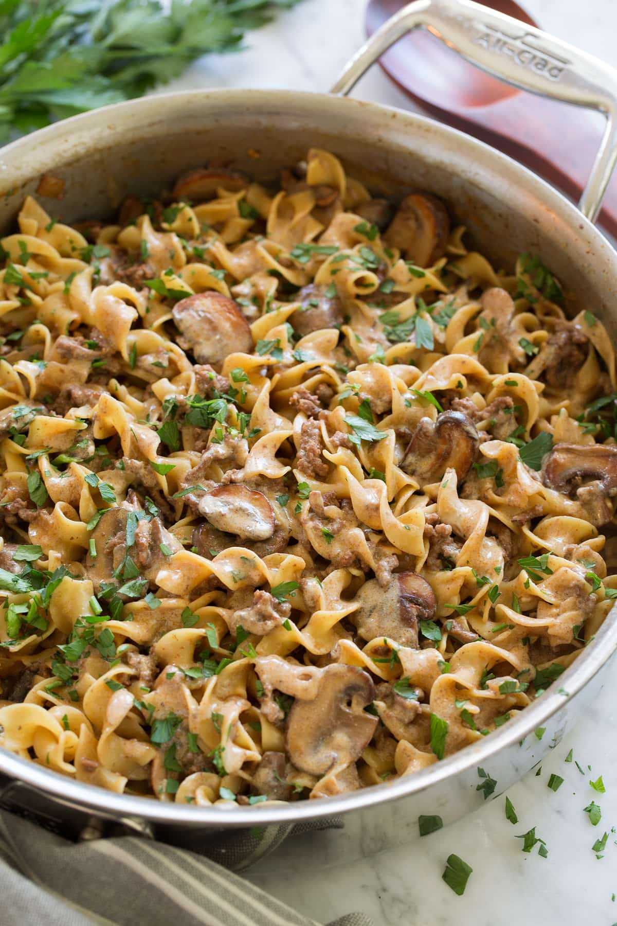 Ground Beef Stroganoff Easy One Pot Recipe Cooking Classy
