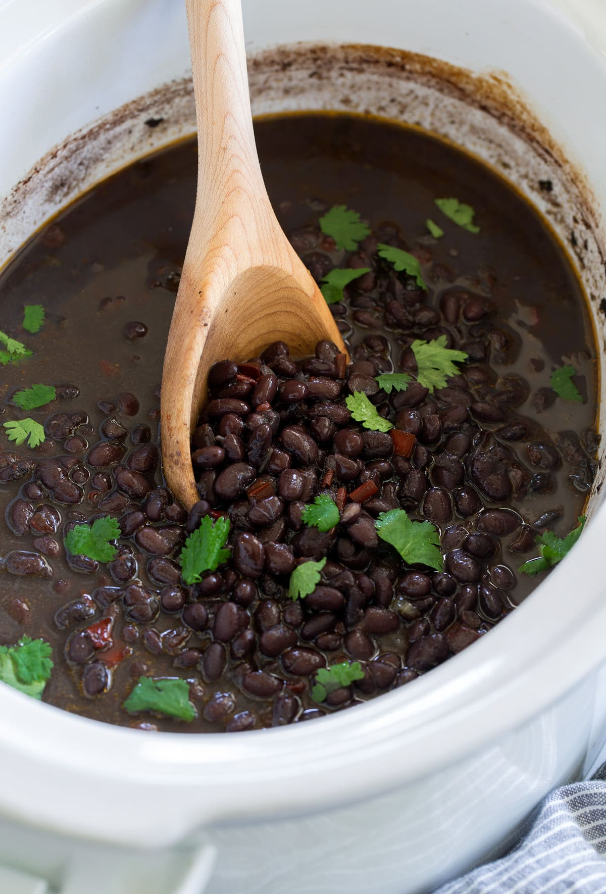 Black Beans Crockpot Or Instant Pot