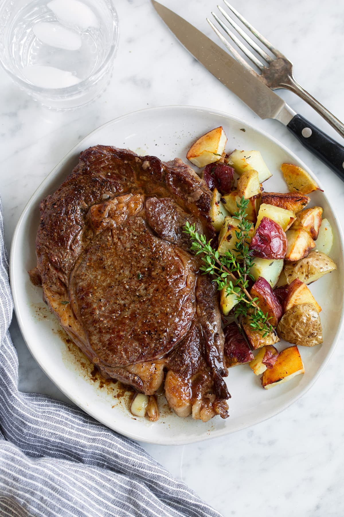 Steak New York Strip or Rib Eye Recipe
