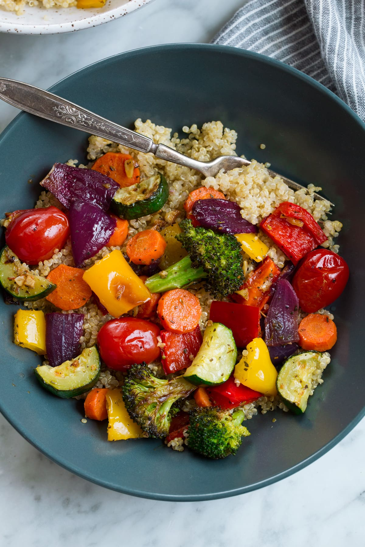 Healthy Cookout Recipes: Oven Roasted Vegetables Recipe