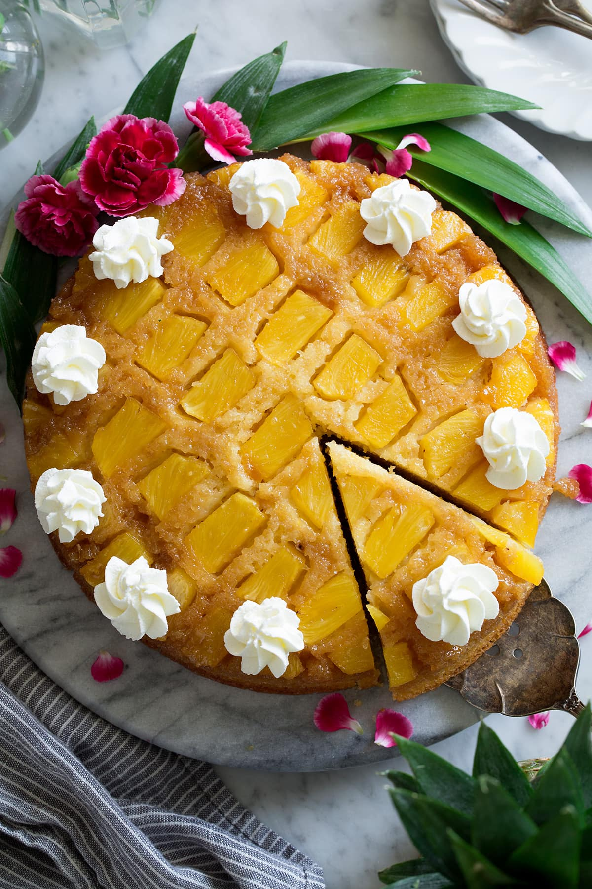 Pineapple Upside Down Cake Recipe - Cooking Classy