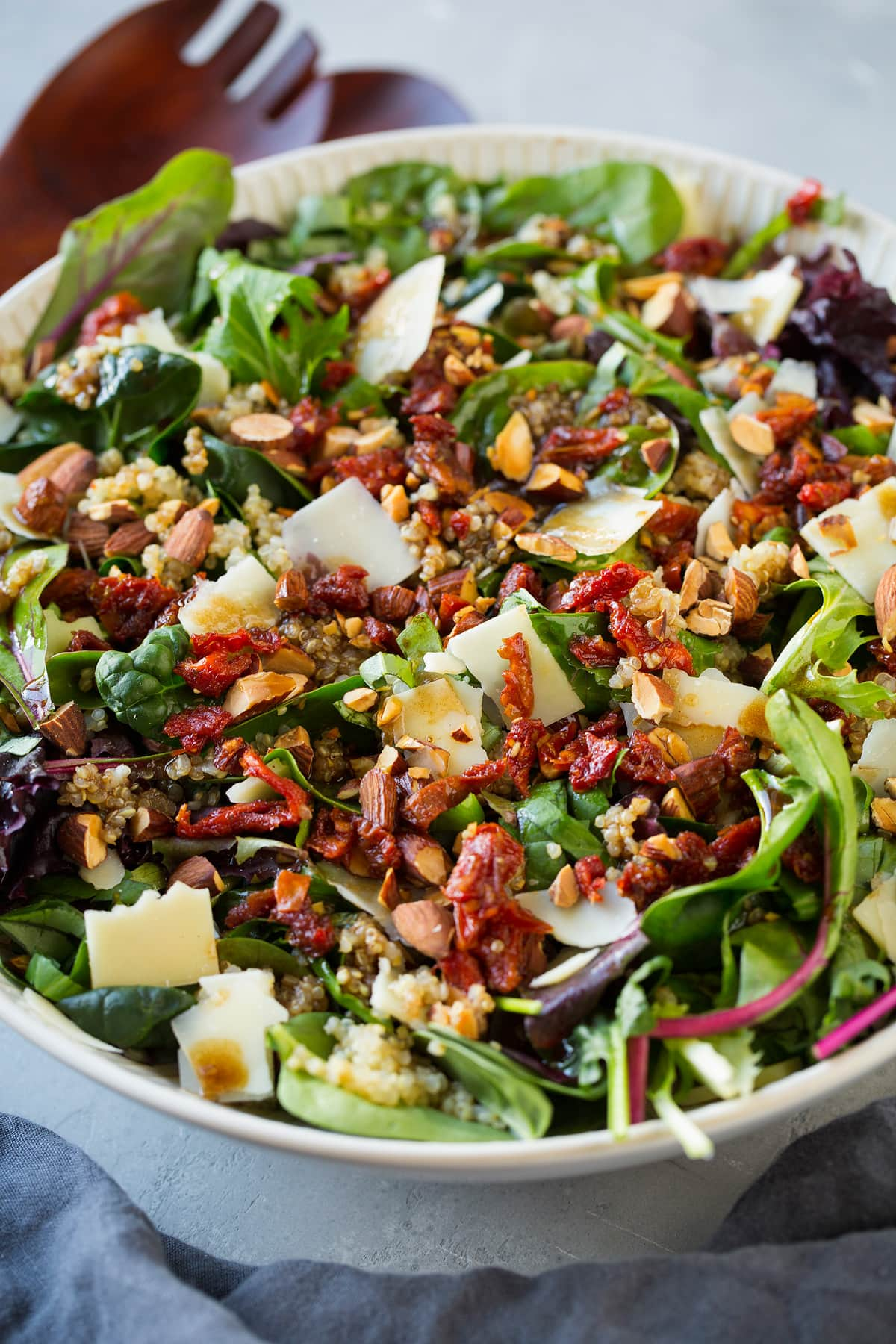Sun Dried Tomato Quinoa Salad