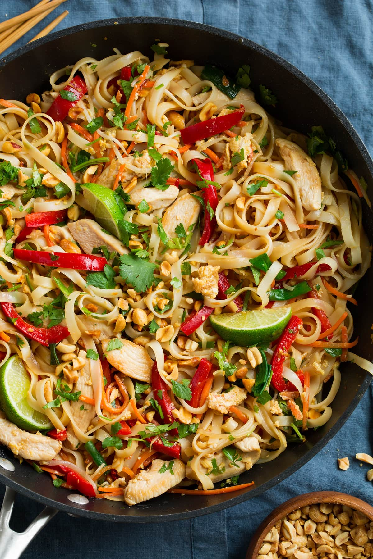 Pad Thai Recipe With Chicken Or Shrimp Cooking Classy