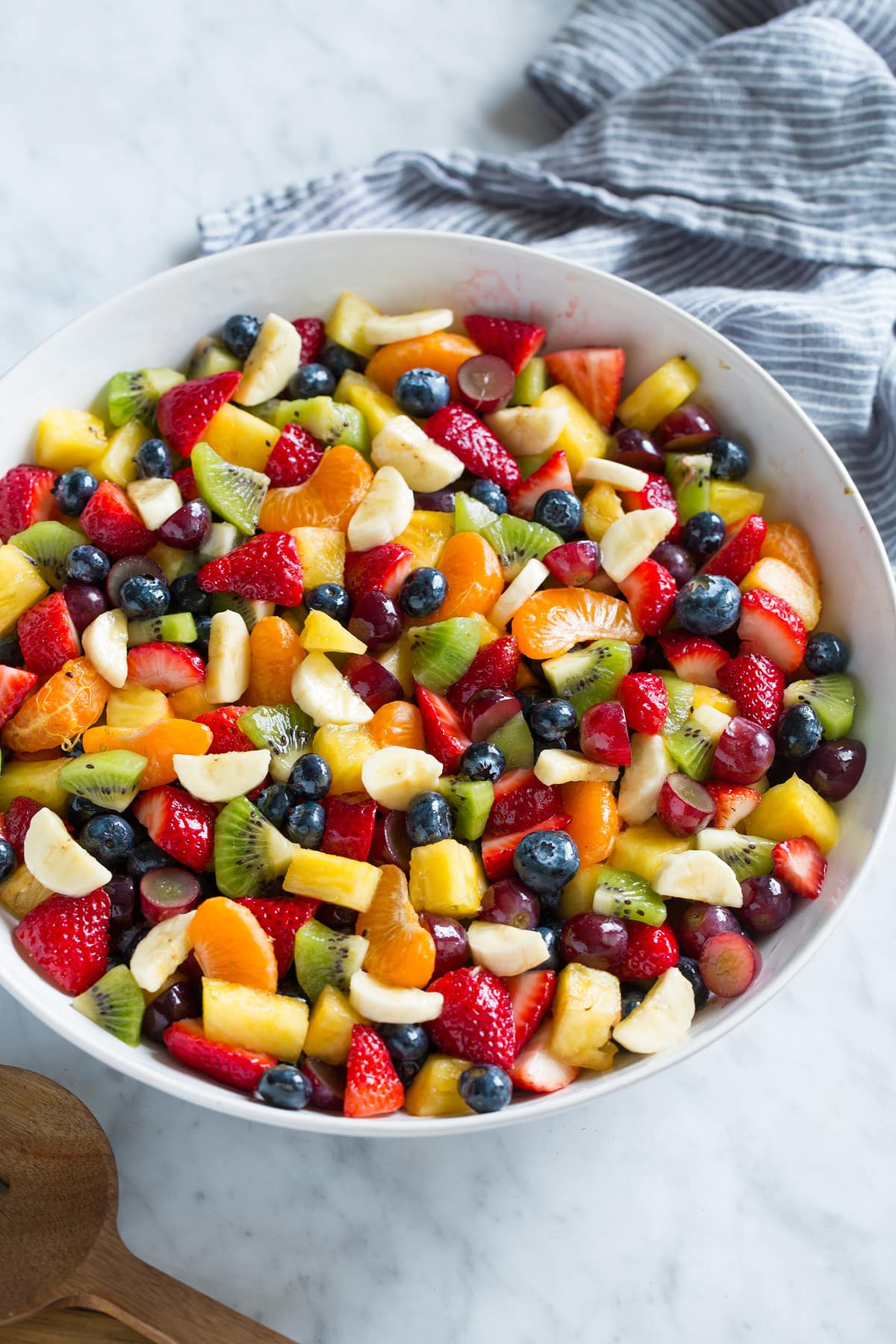 Fruit Salad Recipe With Honey Lime Dressing Cooking Classy