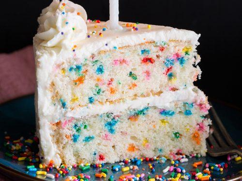 Best Birthday Cake Recipe Funfetti Cake Cooking Classy
