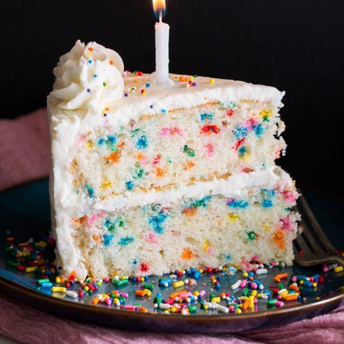 Brilliant Best Birthday Cake Recipe Funfetti Cake Cooking Classy Funny Birthday Cards Online Fluifree Goldxyz